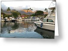 Lahaina Bay Greeting Card