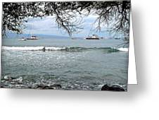 Lahaina Beach Greeting Card