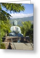 Lahaina Buddha At Jodo  Greeting Card