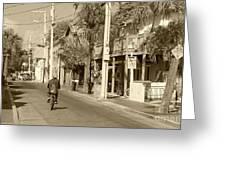 Laid Back Key West Greeting Card