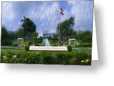 Laie Hawaii Temple Greeting Card