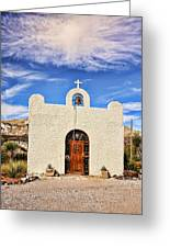Lajitas Chapel 1 Greeting Card