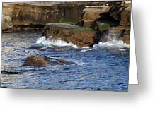 Lajolla Rocks Greeting Card