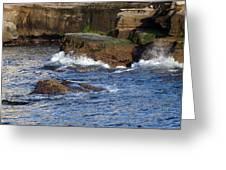 Lajolla Rocks Greeting Card