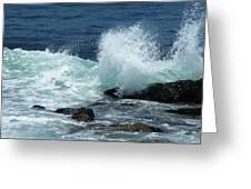 Lajolla Surf Greeting Card