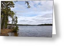Lake 395 Greeting Card