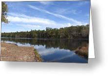Lake 399 Greeting Card