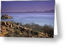 Lake Altus Lugert Greeting Card