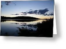 Lake At Dusk Greeting Card