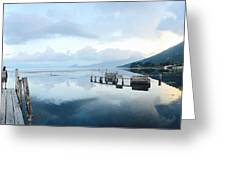 Lake Atitlan, Guatemala Greeting Card