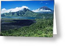 Lake Batur Greeting Card