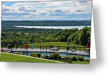 Lake Bellaire, Bellaire Michigan Greeting Card