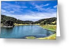 Lake Berressa Under Bridge Greeting Card