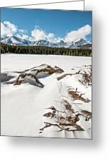 Lake Bierstadt Ver.2 Greeting Card