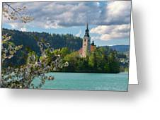 Lake Bled, Slovenia Greeting Card