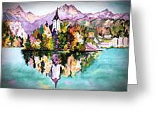 Lake Bled - Slovenia Greeting Card