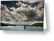 Lake Blue Ridge Greeting Card