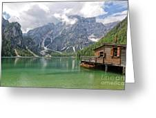 Lake Braies Greeting Card