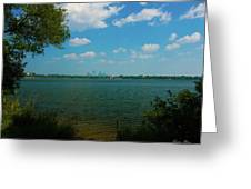 Lake Calhoun 3796 Greeting Card