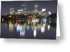 Lake Calhoun Reflection Greeting Card