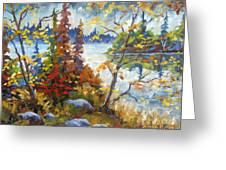 Lake Cartier Greeting Card