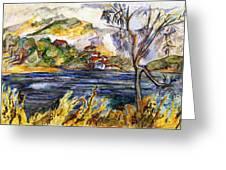 Lake Casitas IIi Greeting Card