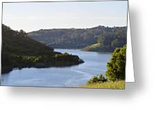 Lake Chabot On A Sunny Day Greeting Card