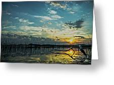 Lake Champlain Vermont Sunrise - 2 Landscape Greeting Card