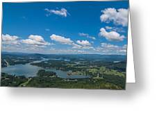Lake Chatuge Greeting Card