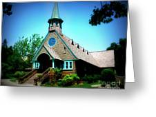 Lake Church Greeting Card