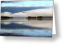 Lake Cobb'see Greeting Card by Dana Patterson