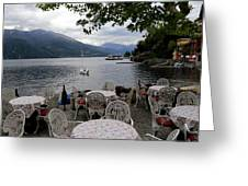 Lake Como 14 Greeting Card
