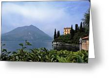Lake Como - Varenna - Villa Cipressi Greeting Card