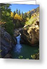 Lake Creek Falls Greeting Card