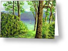 Lake Derwentwater - Lake District Greeting Card