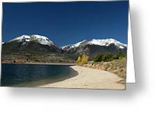 Lake Dillon Colorado Greeting Card