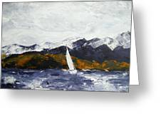 Lake Dillon In Fall Greeting Card