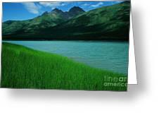 Lake Eklutna Greeting Card