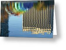 Lake Eola Reflections Greeting Card