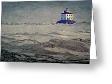 Lake Erie Lighthouse Greeting Card
