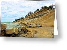 Lake Erie Shoreline Greeting Card