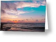 Lake Erie Sunset Greeting Card