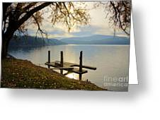 Lake Escape Greeting Card