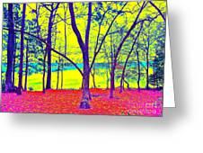 Lake Eyed Greeting Card