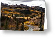 Lake Fork Of The Gunnison Greeting Card