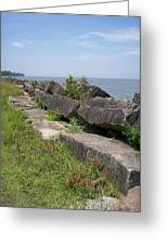 Lake Front Park Greeting Card