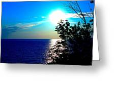 Lake Front Greeting Card
