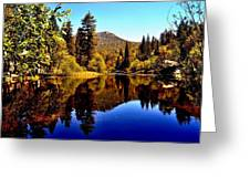 Lake Fulmor - Idyllwild, Ca Greeting Card
