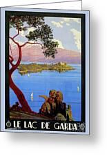 Lake Garda 1920s French Greeting Card