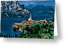 Lake Garda Greeting Card